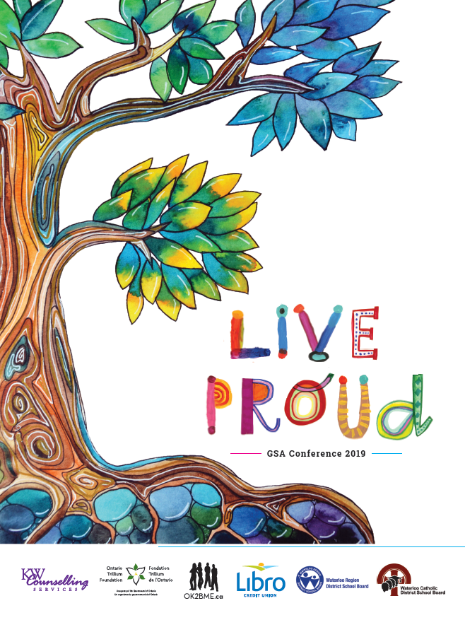 Live Proud: 2019 GSA Conference poster