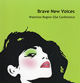 Brave New Voices: GSA Conference 2015  poster
